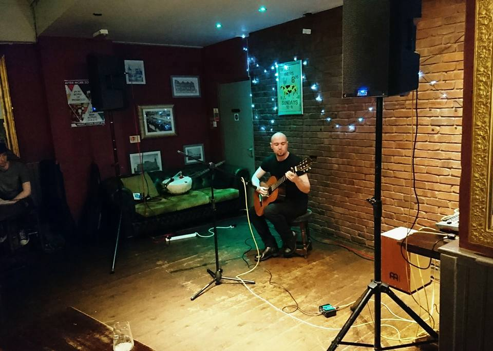 27/09/2016 – Open Mic at The Old Pint Pot, Salford